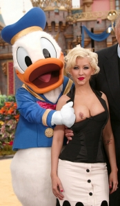 Donald helps Xtina get comfortable