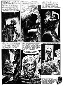Corben art from Eerie 43